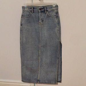 TNA Jeans Skirt